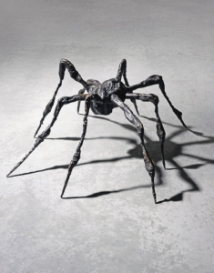 French-American Artist Louise Bourgeois's Bronze Sculpture Spider III Was Sold for 6.522 Millions US Dollars
