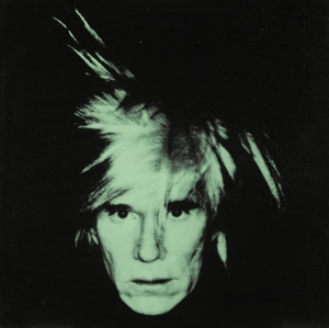 Andy Warhol's Silk-Screen Canvas Self-Portrait (Fright Wig) Was Sold for 7,698 Thousand US Dollars