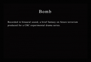 Multimedia Art - Bomb