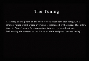 The Tuning - Contemporary Multimedia Art