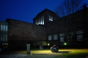 Contemporary Artwork by NatHalie Braun Barends - PHaradise Light Installation at Kunsthalle Mannheim Billingbau