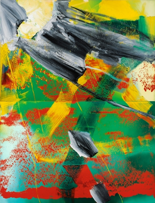 The German painter, Gerhard Richter's Large Abstract Painting was Auctioned for 15 Million Dollars
