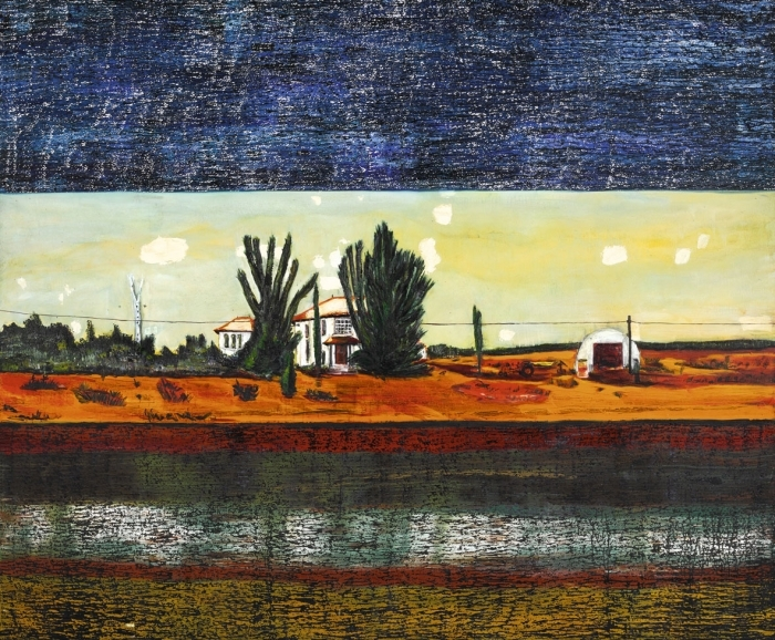 Scottish Painter Peter Doig's Large Scale Oil Painting was Sold for 5861 thousand Pounds