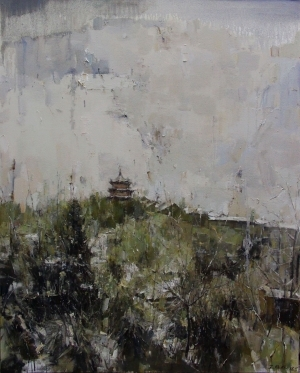 Contemporary Artwork by Wang Panpan - Memories in Xiling Mount