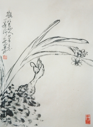 Contemporary Artwork by Hefeng Hall Gallery - Chinese Birds and Flowers