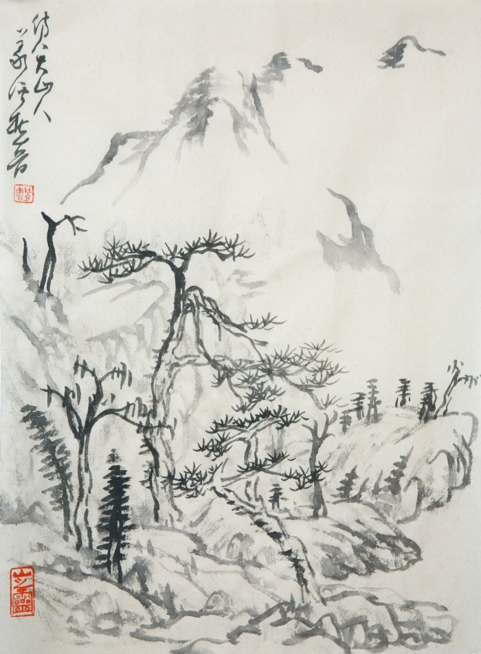 Hefeng Hall Gallery Chinese Painting - Chinese Landscape