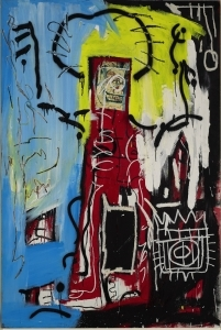 The Graffiti Artist Jean-Michel Basquiat's Collage was Sold for 11.97 Million Pounds