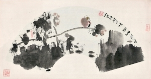Contemporary Chinese Painting - Lotus