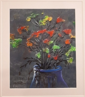 Contemporary Oil Painting - A Bouquet of Flowers I