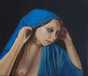 Contemporary Oil Painting - The Seeker
