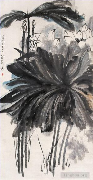 Lotus 3 - Contemporary Chinese Painting