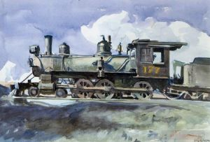 D r g locomotive - Contemporary Various Paintings