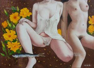 Diary of A Lover 5 - Contemporary Various Paintings