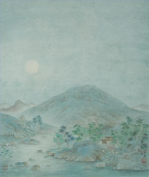 Cold Moonlight - Contemporary Chinese Painting