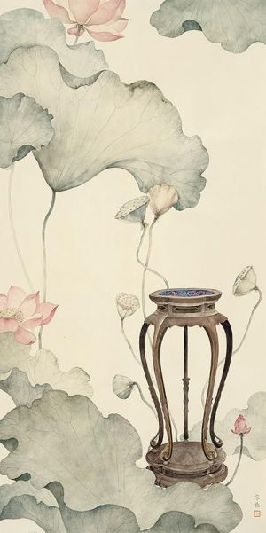Painting of Flowers and Birds in Traditional Chinese Style 4 - Contemporary Chinese Painting