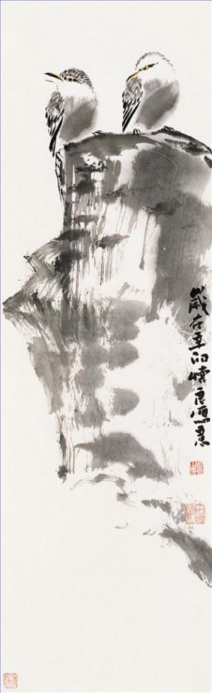 Artwork Painting of Flowers and Birds in Traditional Chinese Style 13