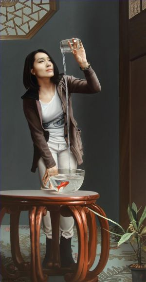 Contemporary Oil Painting - Observation