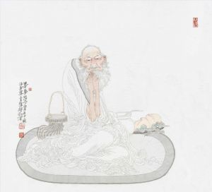 Practice Meditation - Contemporary Chinese Painting
