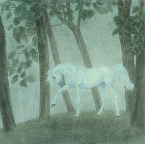 Horse Traditional Chinese Painting Fine Brushwork 2 - Contemporary Chinese Painting