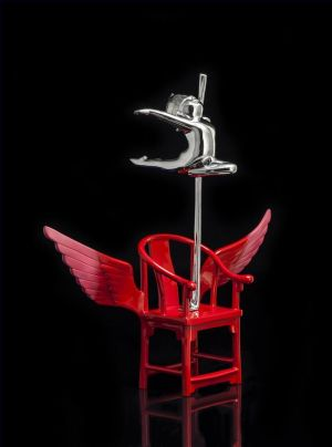 Contemporary Sculpture - The Red Chair