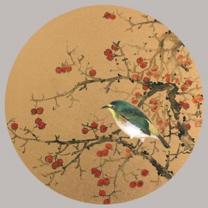 Artwork Painting of Flowers and Birds in Traditional Chinese Style 4