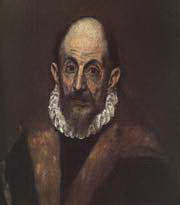 Oil Painting Old Master - El Greco