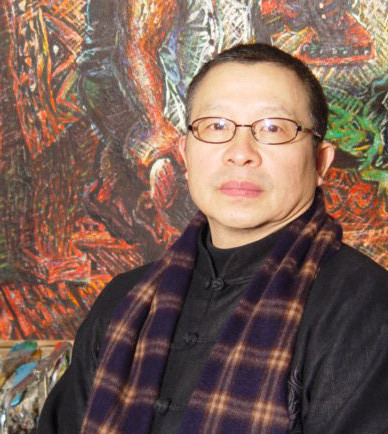 Contemporary Oil Painting Artist Luo Zhongli