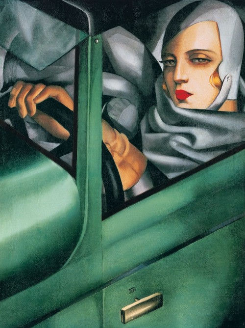 Contemporary Oil Painting Artist Tamara de Lempicka