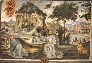 Antique Various Paintings - Stigmata Of St Francis