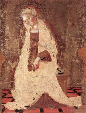 Antique Various Paintings - Madonna Annunciate
