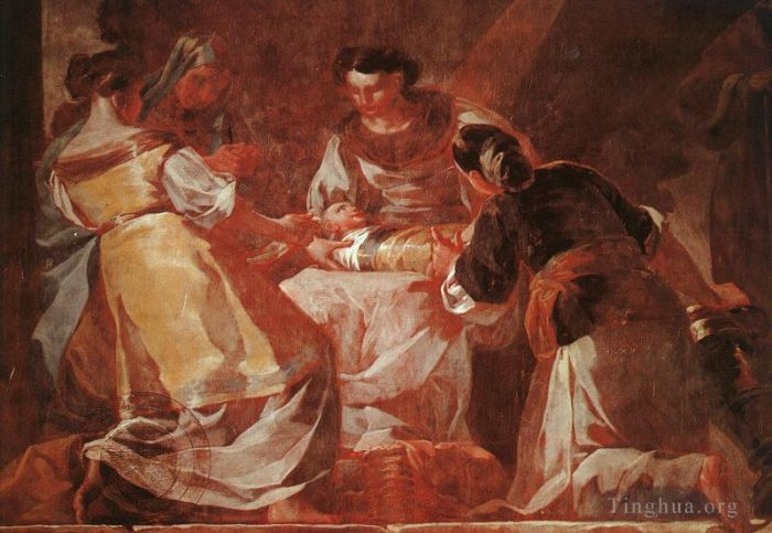 Francisco Goya Oil Painting - Birth of the Virgin