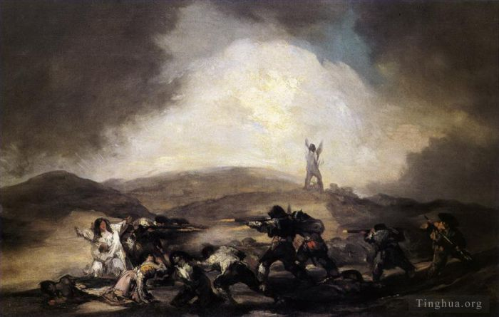 Francisco Goya Oil Painting - Robbery