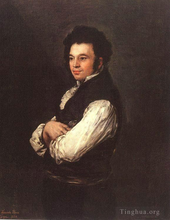 Francisco Goya Oil Painting - The Architect Don Tiburcio Perezy Cuervo