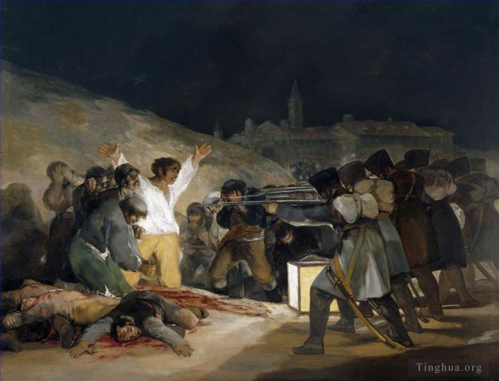 Francisco Goya Oil Painting - The Third of May 1808