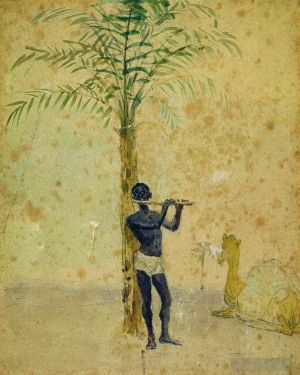 Antique Various Paintings - African motiff