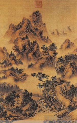 Antique Chinese Painting - Landscape