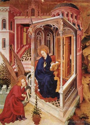 Antique Various Paintings - The Annunciation