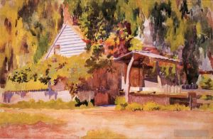 Antique Various Paintings - The Summer House